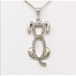 Jewelry - Natural diamonds & Solid sterling silver dog only
